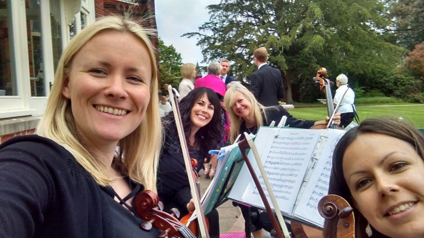 The Bossard Quartet at The ElvethamThe Bossard Quartet at The Elvetham