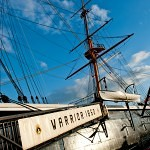 HMS Warrior and The Langstone Hotel