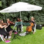 Why Does A String Quartet Need Shade At A Wedding?