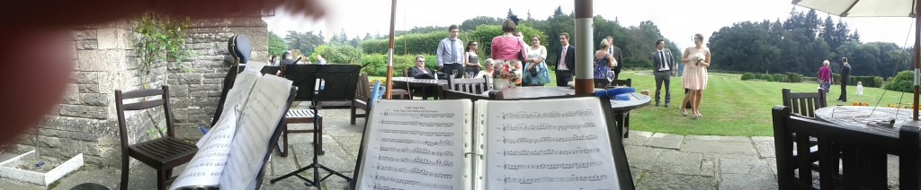 Just a sneaky pic – the life of a string quartet