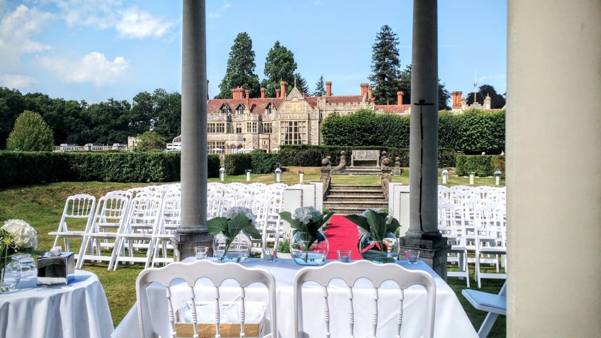 Rhinefield House Outside Ceremony