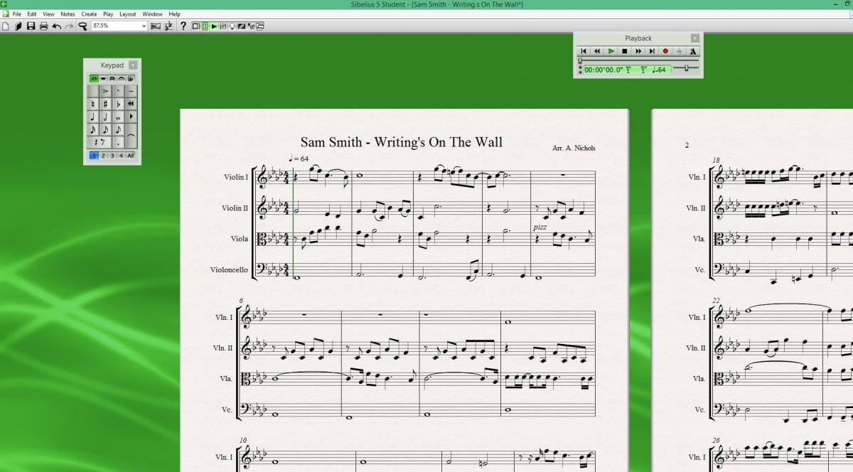 String Quartet Arrangement : Sam Smith - Writing's On The Wall