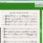 String Quartet Arrangement : Sam Smith – Writing's On The Wall