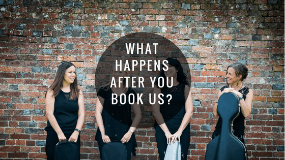 What happens after you book us?
