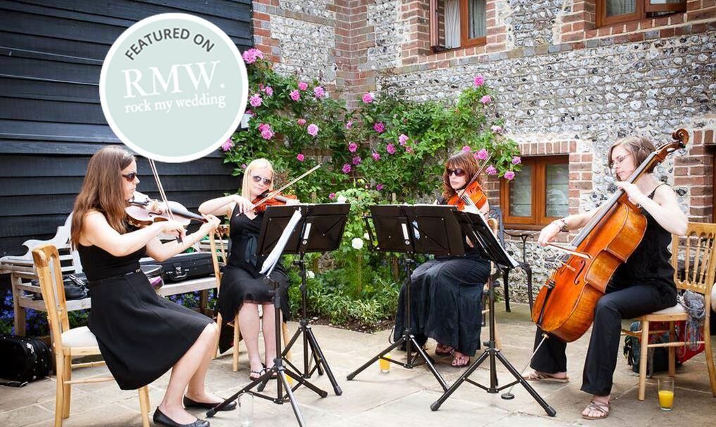 4 Ways To Use A String Quartet At Your Wedding