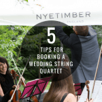 5 Tips For Booking A Wedding String Quartet
