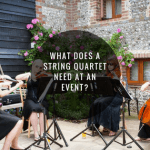 What Does A String Quartet Need At An Event?
