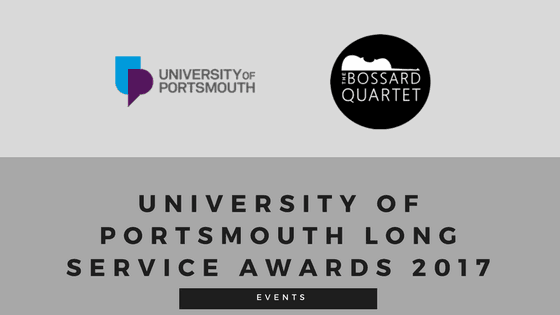 University of Portsmouth Long Service Awards 2017