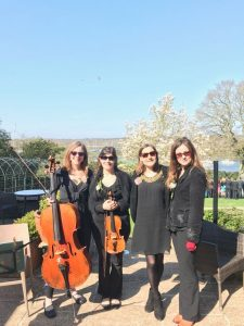 String Quartet at Buckler's Hard